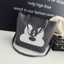 Cute PU  Shoulder Bags  black  NHBH0601black