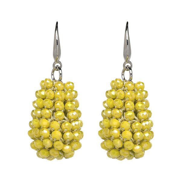 Fashion Acrylic earring Geometric NHJJ3935-yellow