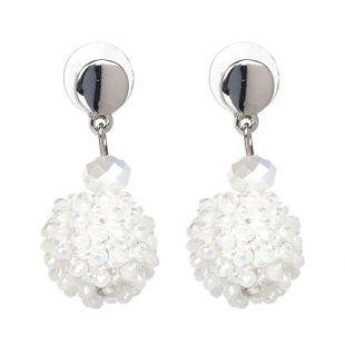 Korea Acrylic earring Geometric NHJJ3941-white's discount tags