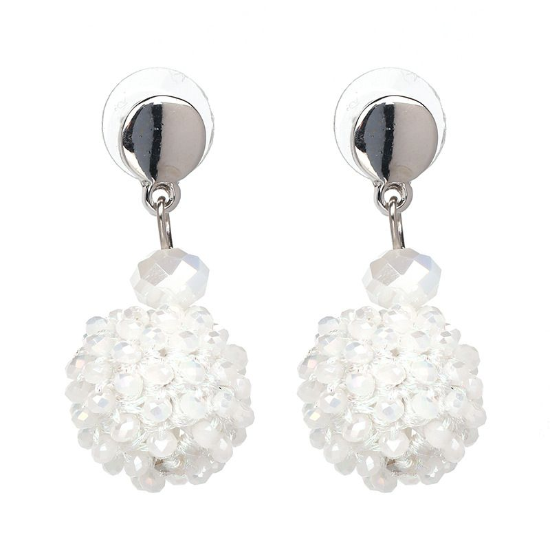 Korea Acrylic earring Geometric NHJJ3941white