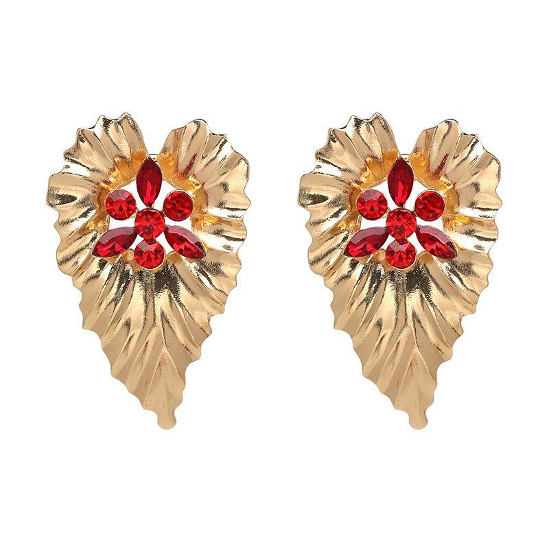 Fashion Alloy earring Geometric NHJJ3942red