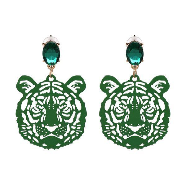 Vintage Alloy earring Animal NHJJ3945-green