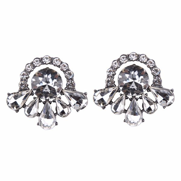 Fashion Alloy earring Geometric NHJQ9831-white