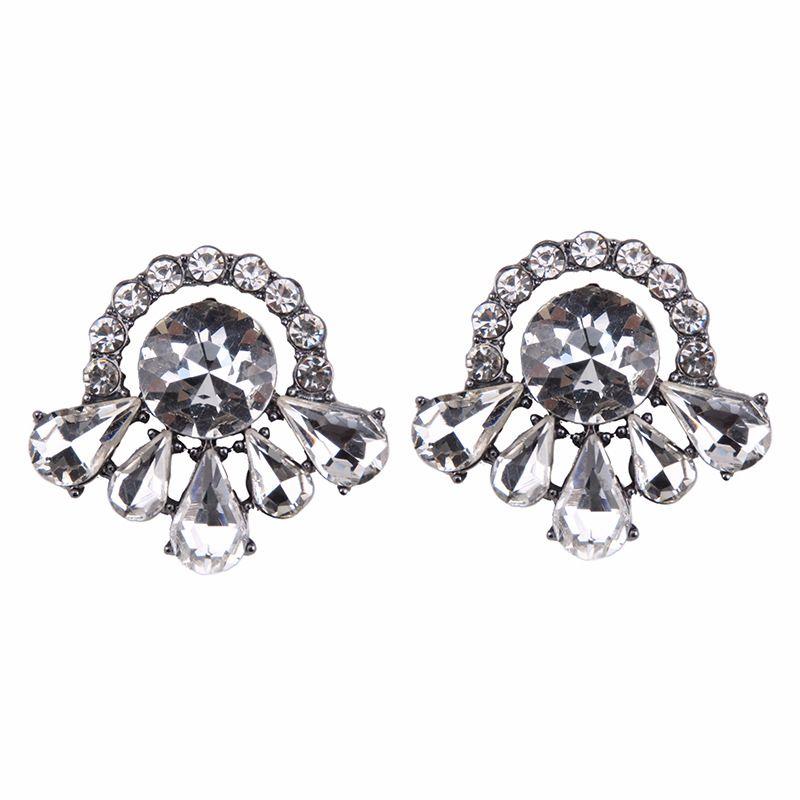 Fashion Alloy earring Geometric NHJQ9831-white