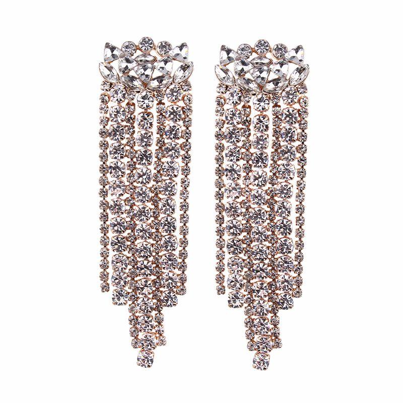 Fashion Alloy earring Geometric NHJQ9833Alloy