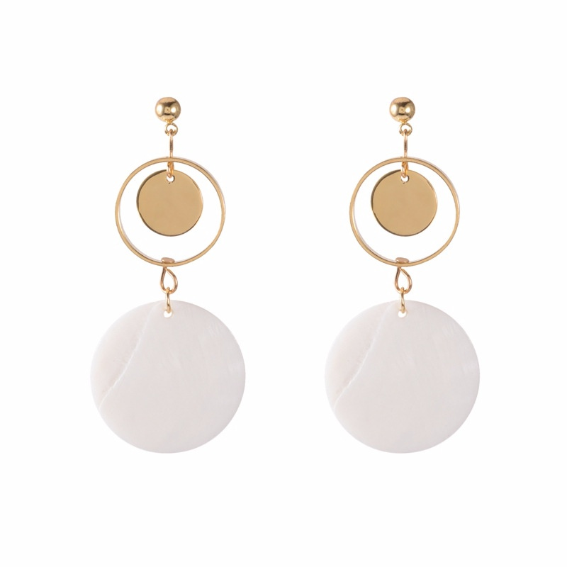 Korea Alloy earring Geometric NHYT0861-Alloy