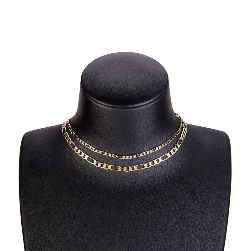 Fashion Alloy necklace Geometric NHYT0871-Alloy