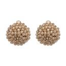 Vintage Acrylic earring Geometric NHJJ3954green