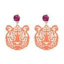 Vintage Alloy earring Animal NHJJ3945green