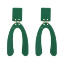 Fashion Plastic earring Geometric NHJJ3951red