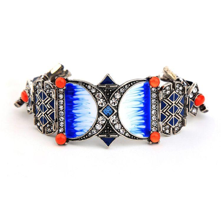 Alloy Fashion Geometric bracelet NHQD4395-Photo Color