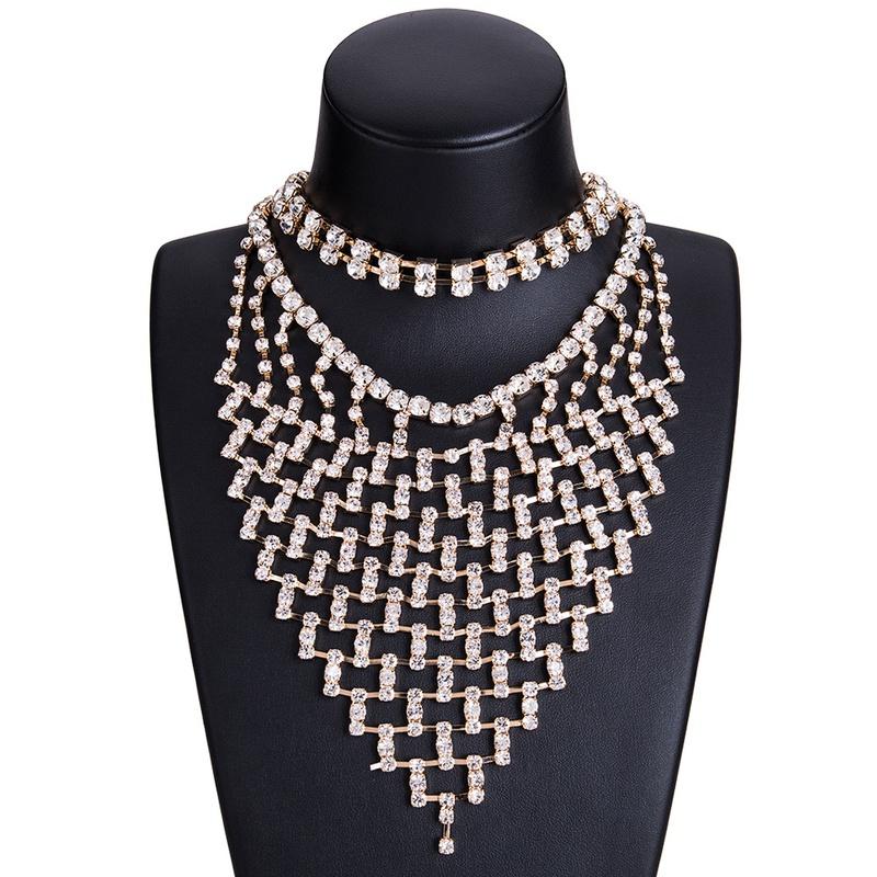 Alloy Fashion Geometric necklace NHJE0979-Alloy