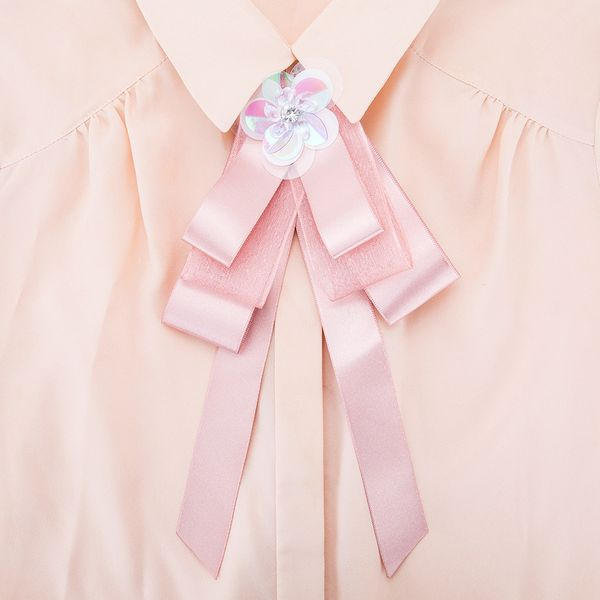 Alloy Fashion Bows brooch NHJE0987-Pink