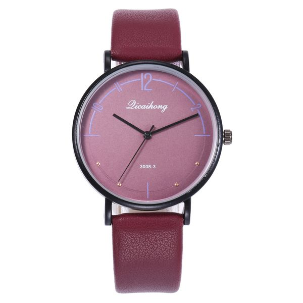 Alloy Fashion  Ladies watch  (Red male) NHHK1227-Red-male