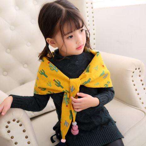 Alloy Korea  scarf  (Cactus yellow) NHMN0291-Cactus-yellow's discount tags
