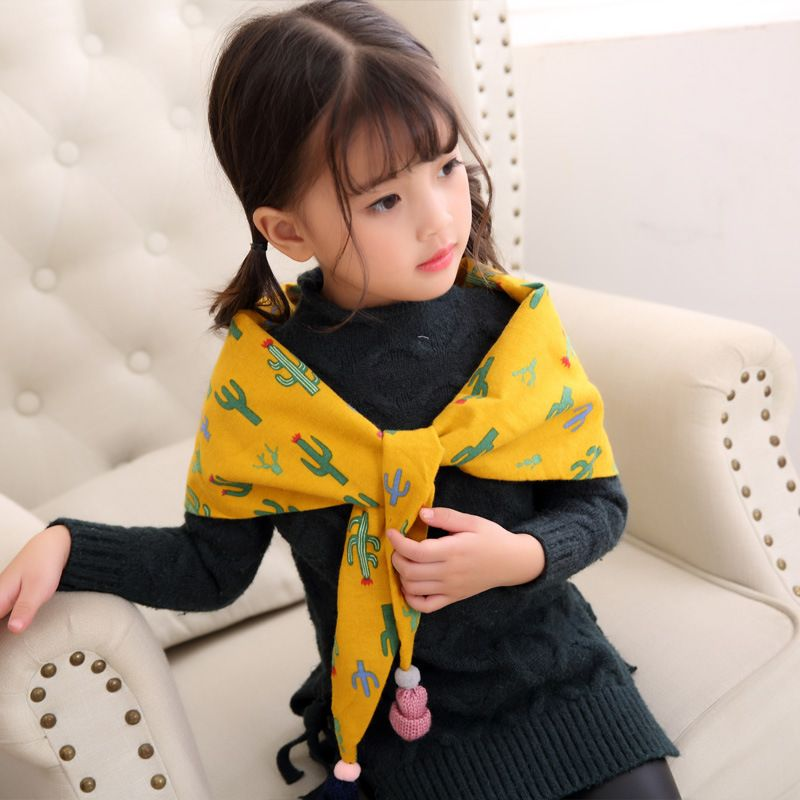 Alloy Korea  scarf  (Cactus yellow) NHMN0291-Cactus-yellow