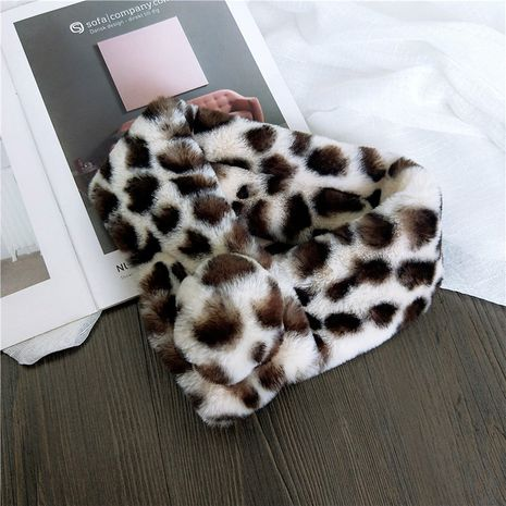 Cloth Korea  scarf  (1 leopard milk white) NHMN0305-1-leopard-milk-white's discount tags