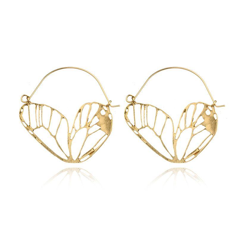 Alloy Vintage Flowers earring  (Alloy) NHGY2707-Alloy