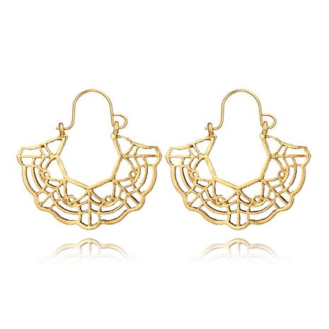 Alloy Vintage Flowers earring  (Alloy) NHGY2708-Alloy's discount tags