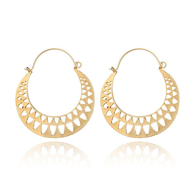 Alloy Vintage Flowers earring  (3802-Alloy) NHGY2709-3802-Alloy