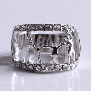 Alloy Fashion Cartoon Ring  (White K-17) NHKQ2070-White-K-17's discount tags
