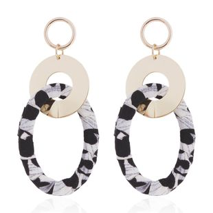 Alloy Fashion Geometric earring  (Cow color) NHMD4926-Cow-color's discount tags