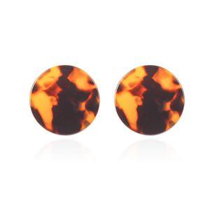 Alloy Fashion Geometric earring  (Deep leopard) NHMD4935-Deep-leopard's discount tags