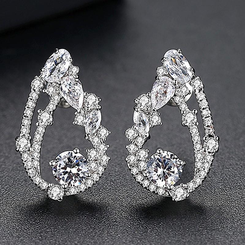 Alloy Korea Geometric earring  PlatinumT01I03 NHTM0448PlatinumT01I03