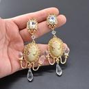 Alloy Vintage Flowers earring  Alloy NHNT0711Alloy