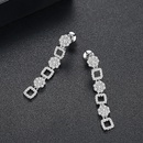 Alloy Korea Geometric earring  PlatinumT01I01 NHTM0447PlatinumT01I01