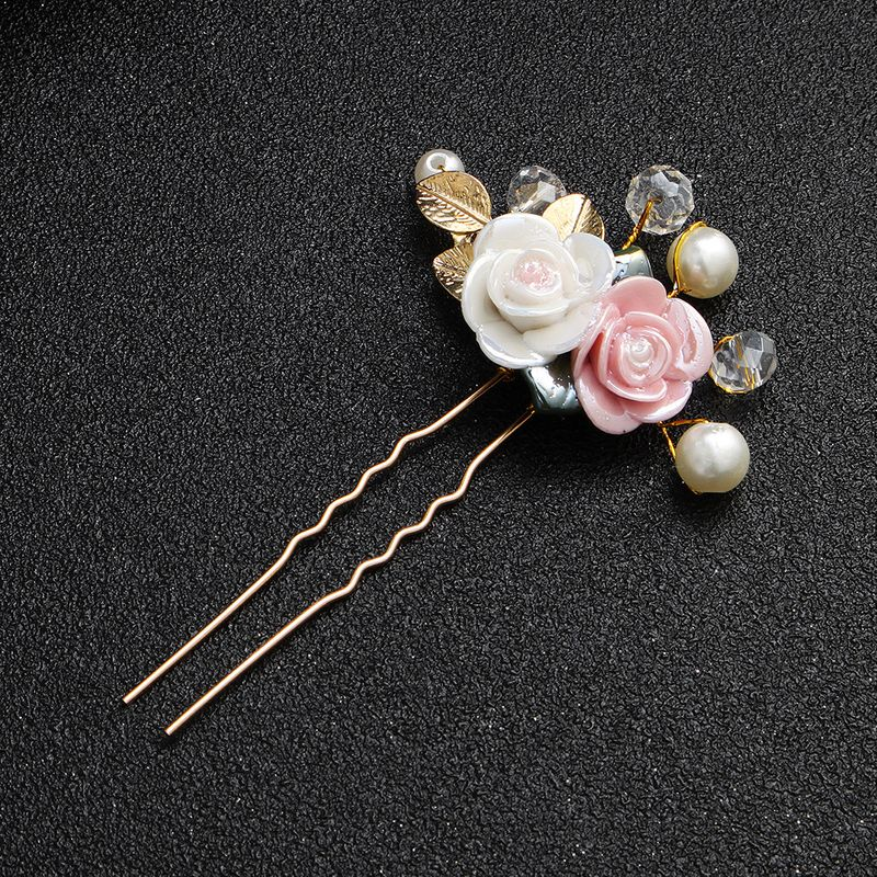 Beads Fashion Geometric Hair accessories  Alloy NHHS0565Alloy