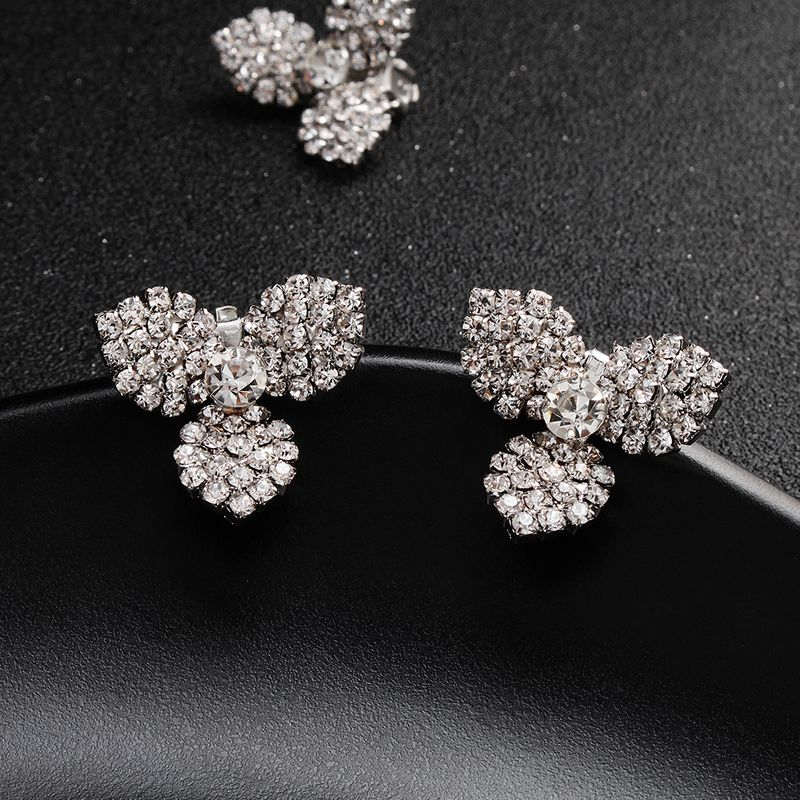 Alloy Simple Geometric earring  (Alloy) NHHS0576-Alloy