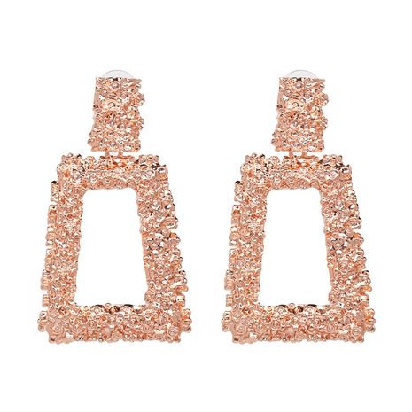 Alloy Fashion Geometric earring  (Rose alloy) NHJJ5297-Rose-alloy's discount tags