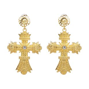 Alloy Fashion Cross earring  (Alloy) NHJJ5305-Alloy's discount tags