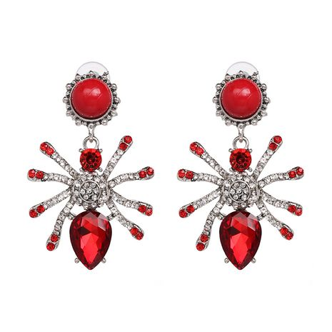 Alloy Fashion Animal earring  (red) NHJJ5309-red's discount tags