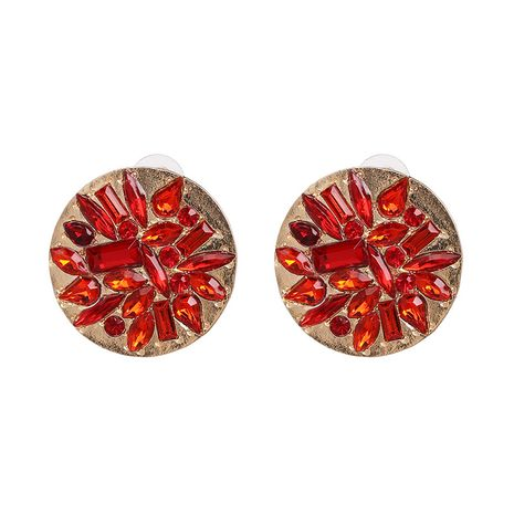 Alloy Fashion Geometric earring  (red) NHJJ5314-red's discount tags
