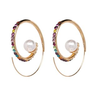Alloy Fashion Geometric earring  (Alloy color) NHJJ5319-Alloy-color's discount tags