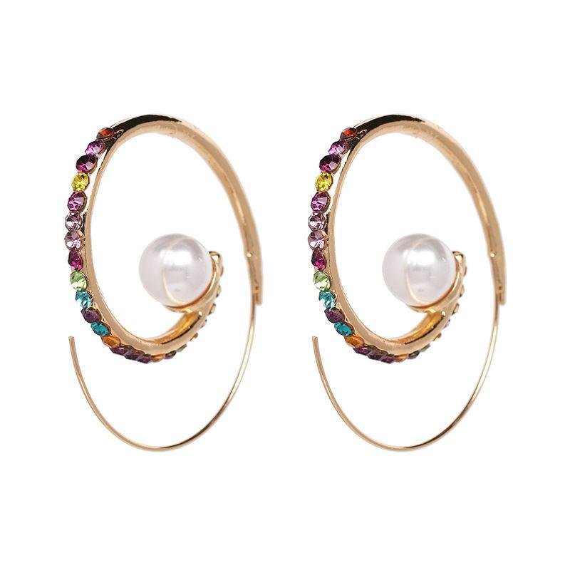 Alloy Fashion Geometric earring  (Alloy color) NHJJ5319-Alloy-color