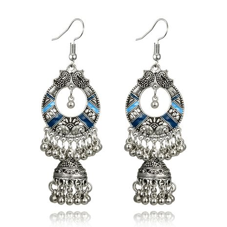 Alloy Vintage  earring  (blue) NHGY2721-blue's discount tags