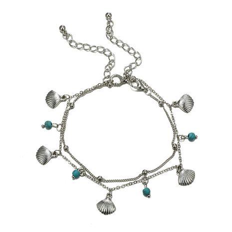Bracelet de cheville géométrique simple en alliage (5867) NHGY2730-5867's discount tags