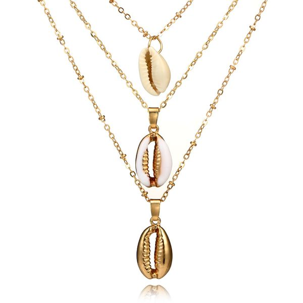 Alloy Fashion Geometric necklace  (5451) NHGY2741-5451