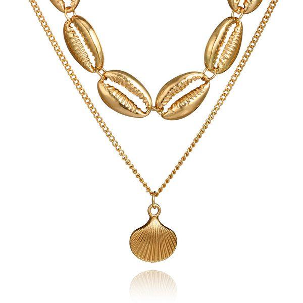 Alloy Fashion Geometric necklace  (3616) NHGY2745-3616