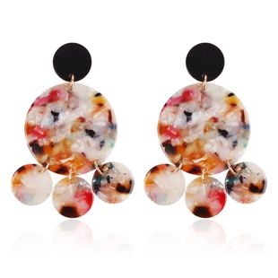 Alloy Korea Geometric earring  (color) NHMD4972-color's discount tags