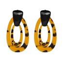 Plastic Fashion Geometric earring  51362 NHJJ531051362