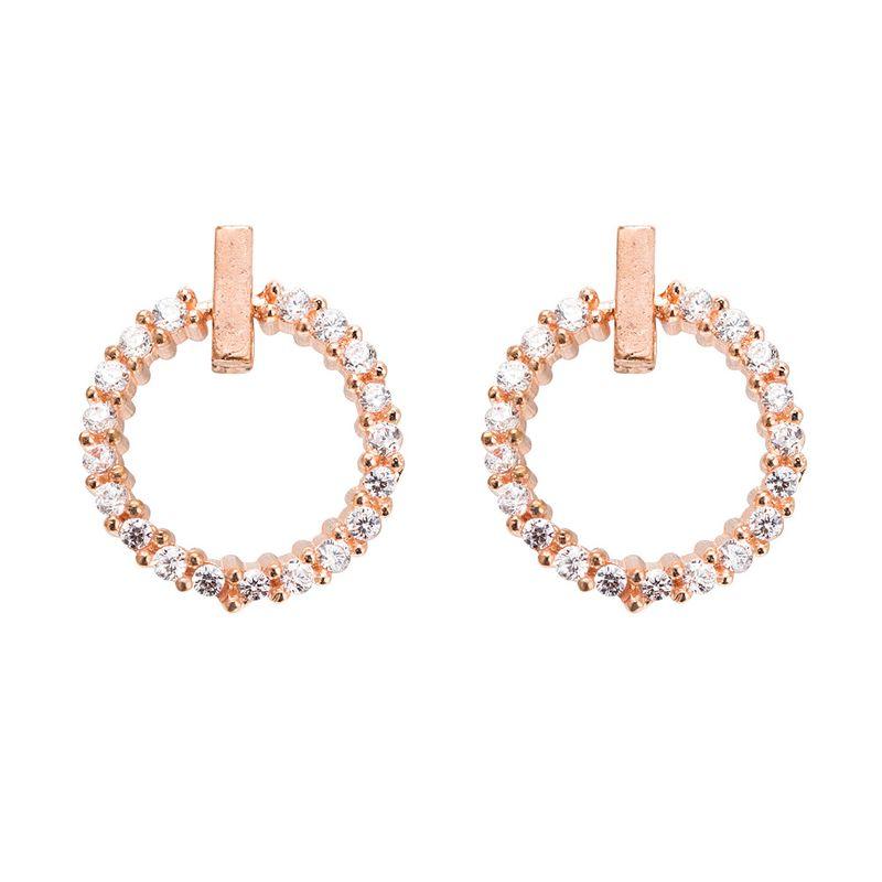 Alloy Korea Geometric earring  Alloy NHYT1339Alloy