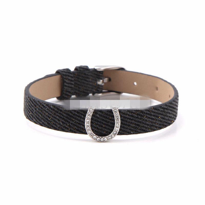 Cloth Simple Geometric bracelet  (black) NHSX0369-black