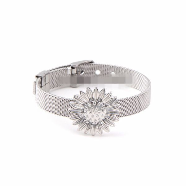 Titanium&Stainless Steel Simple Geometric bracelet  (Steel bracelet) NHSX0376-Steel-bracelet