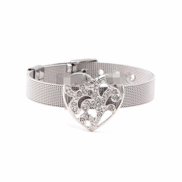 Titanium&Stainless Steel Simple Geometric bracelet  (Steel bracelet) NHSX0381-Steel-bracelet