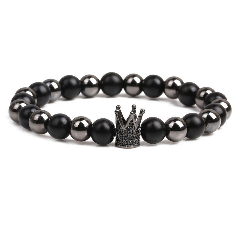 Alloy Fashion Geometric bracelet  (black) NHYL0333-black