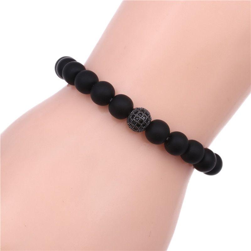 Alloy Fashion Geometric bracelet  (black) NHYL0337-black